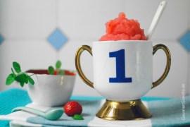 Erdbeer-Riesling-Slush #rezept #gourmetguerilla #slush