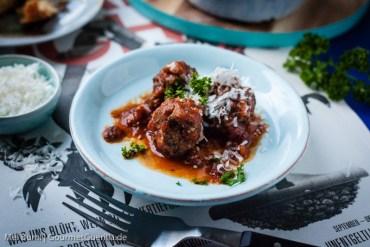 Marinara Meatballs Fleischbällchen aus dem Schnellkochtopf | GourmetGuerilla.de