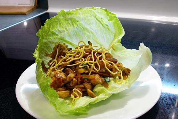 Asian Lettuce Wraps - The Gourmet Housewife