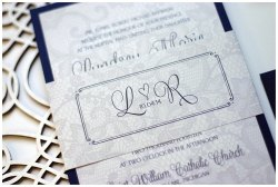 Small Of Lace Wedding Invitations