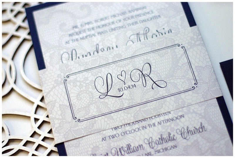 Large Of Lace Wedding Invitations