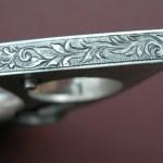 "Colt Python ""Vampire Gun"" - Bottom Grip Frame Detail"