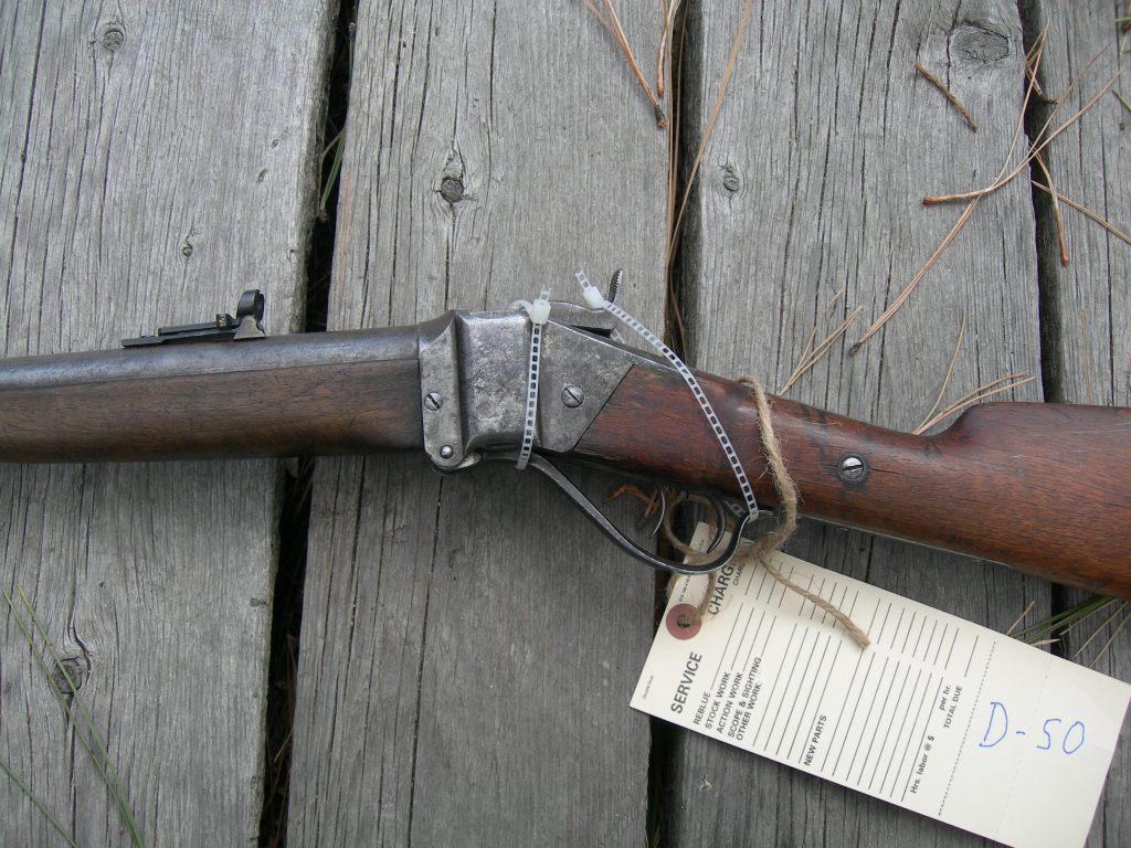 Sharps 1874 Business Rifle Close Up