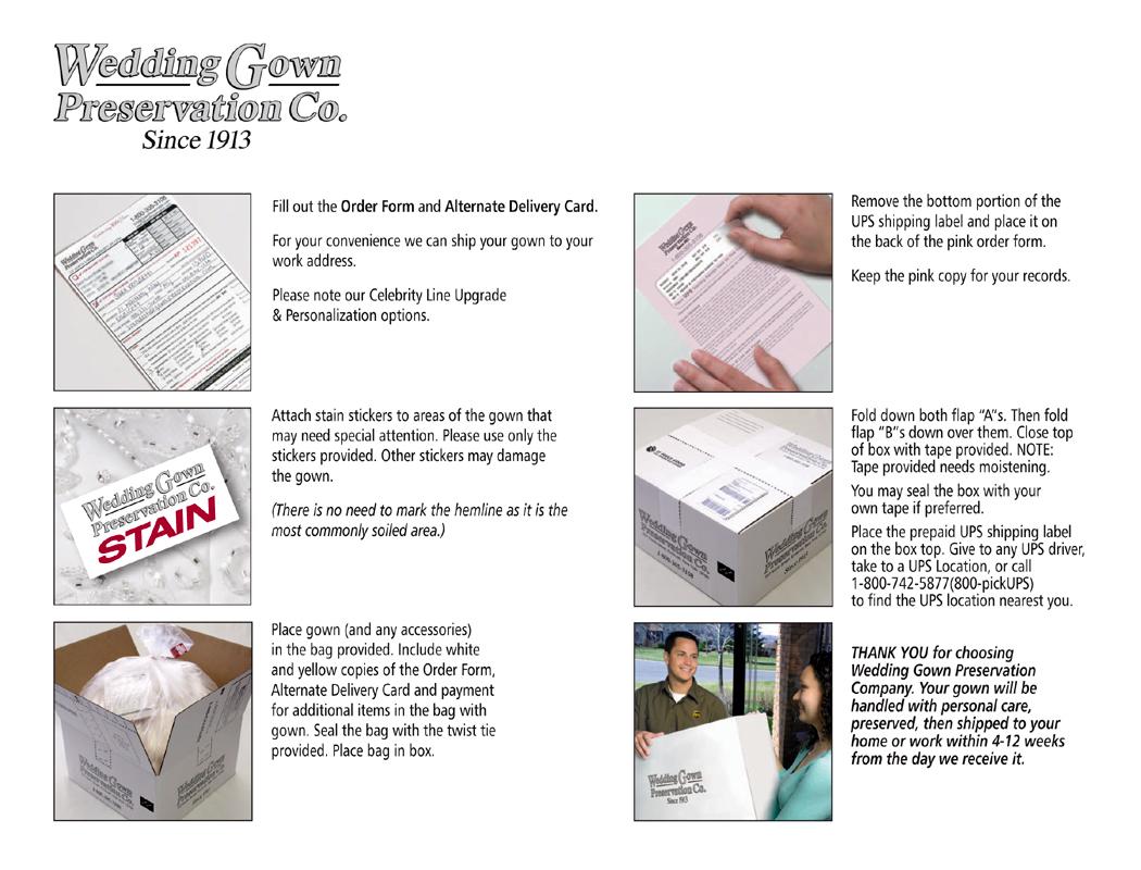 gownpreservation wedding dress storage box Gown Status Dealer Tools