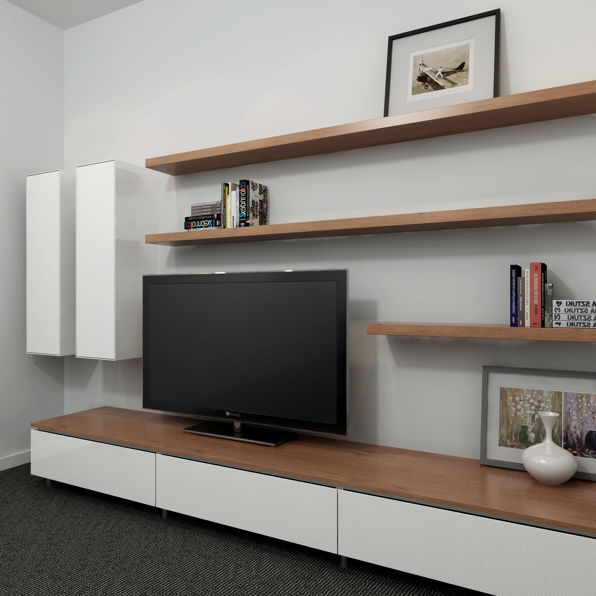 Fullsize Of Wall Long Shelves