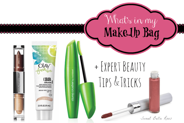 Expert Beauty Tips & Tricks... and what's in my makeup bag #beautyscoop