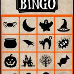 Spooky Halloween Bingo- Free Printable