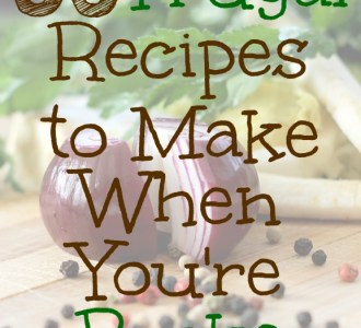 35 Frugal Recipes to Make When You're Broke