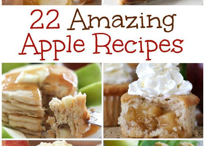 22 Amazing Apple Recipes