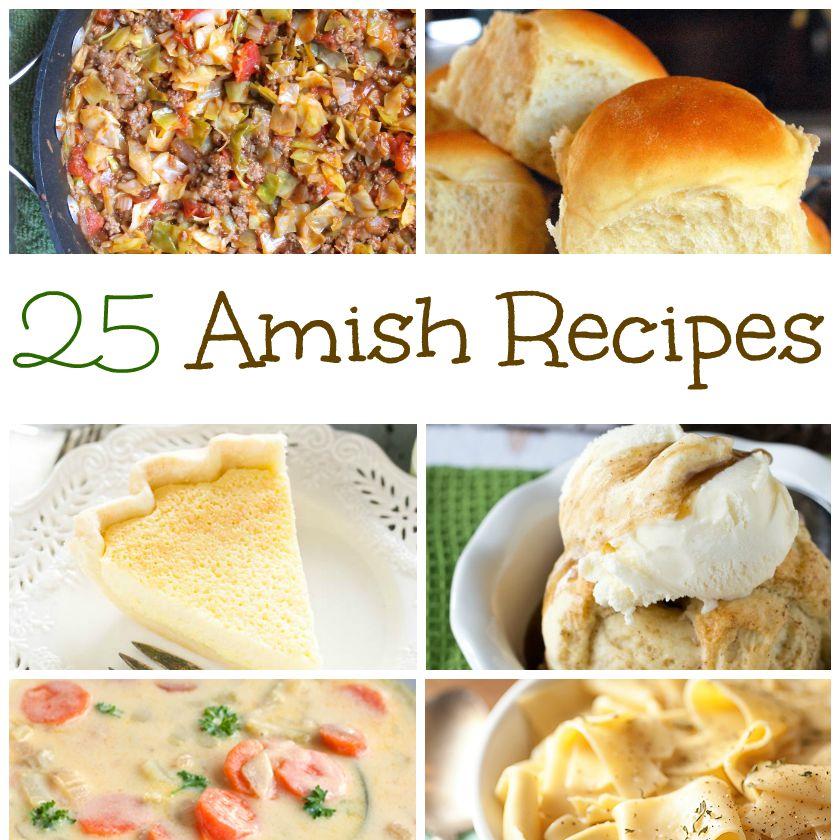 25 Amish Recipes