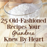 25 Old-Fashioned 菜谱 您r Grandma Knew By Heart
