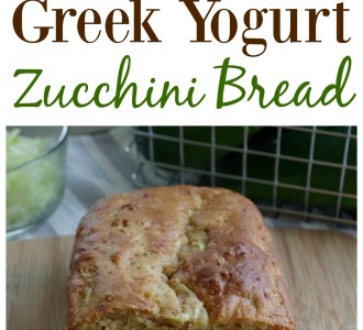 Greek Yogurt Zucchini Bread