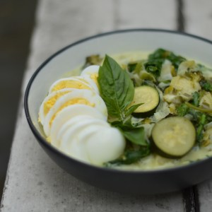 Thai Green Curry (Paleo, Vegetarian)