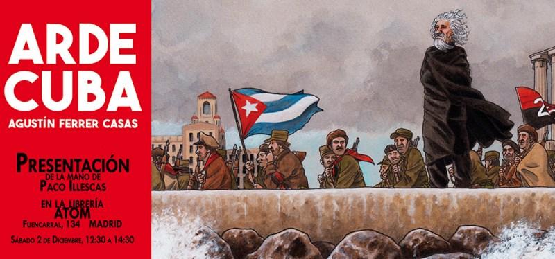 Arde Cuba Presentación Atom