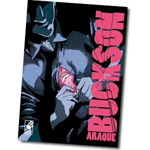 cómic BUCKSON, CIENCIA FICCIÓN dibujada por Victor Araque, una novela gráfica llena de acción