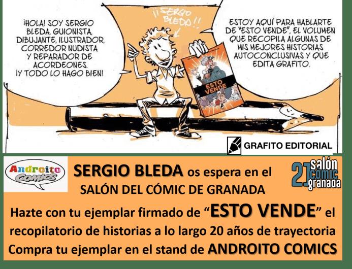 CARTEL ANDROITO SERGIO BLEDA