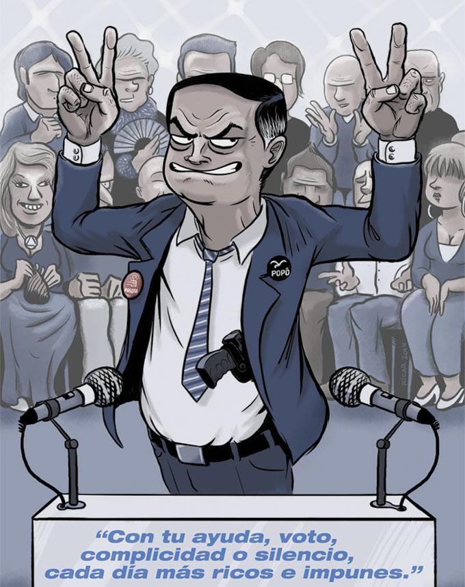 Esta es la Lámina de regalo que consigues con cada ejemplar del cómic CHORIZOS. Atraco a la española. ¿Quieres un político corrupto en casa? Aqui tienes unoRegalo-chorizos-COMIC-politico-corrupto.jpg