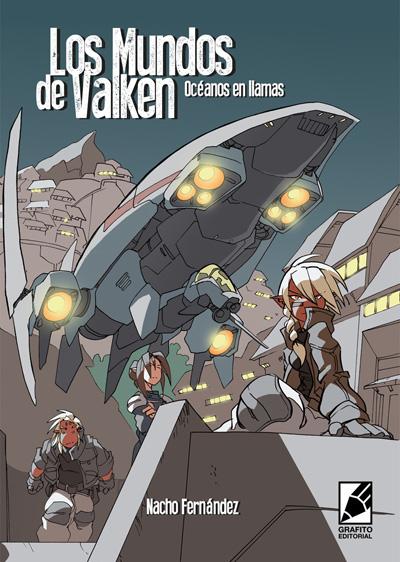 Cómic manga LOS MUNDOS DE VALKEN de Nacho Fernandez