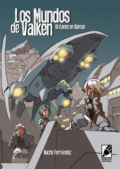 portada del cómic LOS MUNDOS DE VALKEN de Nachomon, Nacho Fernandez