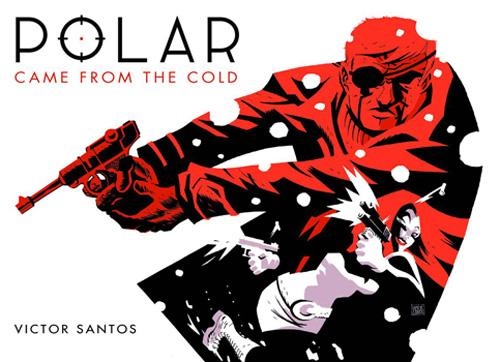 Portada Polar comic Victor Santos