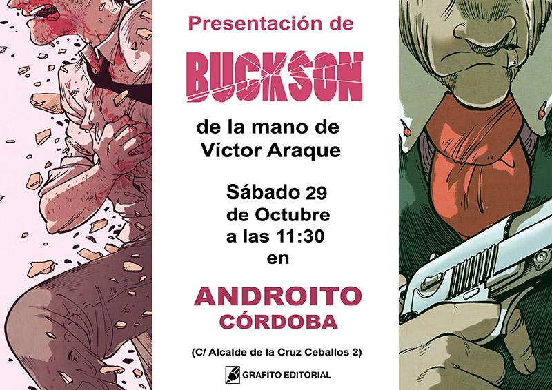 androito buckson comic