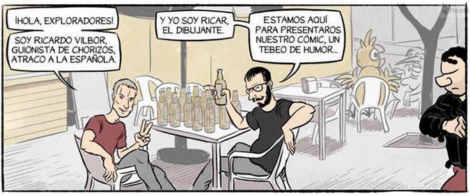 chorizos comic