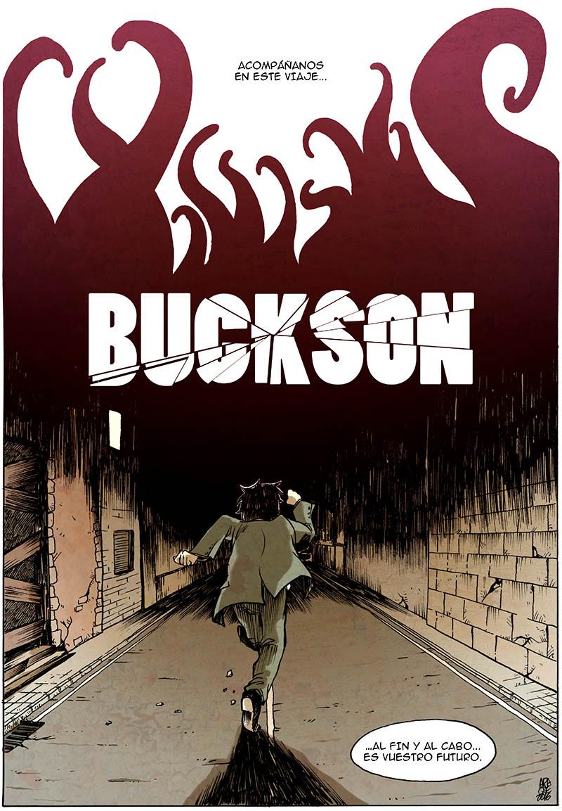 BUCKSON, un cómic de Victor Araque. La medicina en el futuro no es como piensas.