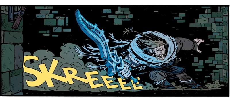 HROLF HALLVARDSON, protagonista del Cómic Spider King, publicado por GRAFITO EDITORIAL como EL REY ARAÑA
