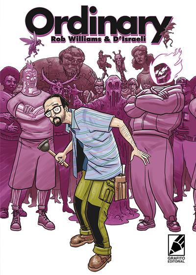 portada del cómic Ordinary, publicado por GRAFITO EDITORIAL