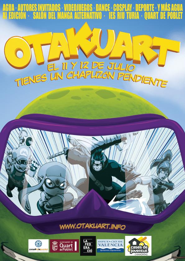poster de otakuart 2015