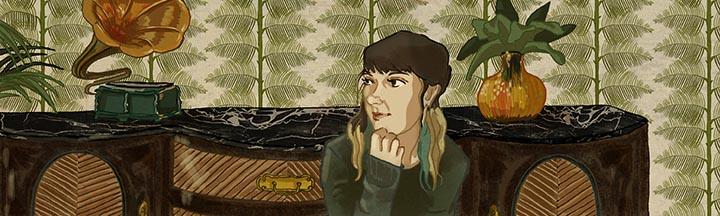 Rocio Estepa, colorista de el cómic Buckson