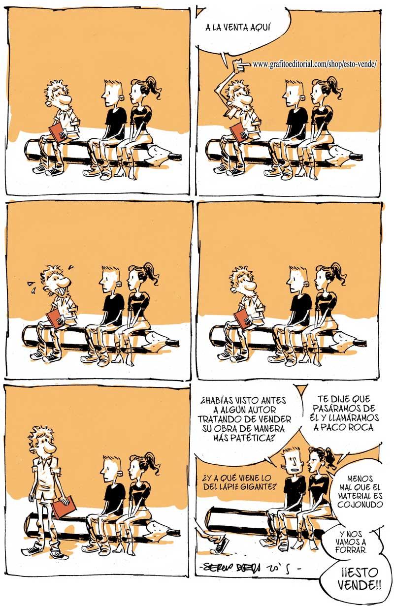 El dibujante Sergio Bleda anuncia ESTO VENDE, su cómic recopilatorio 2