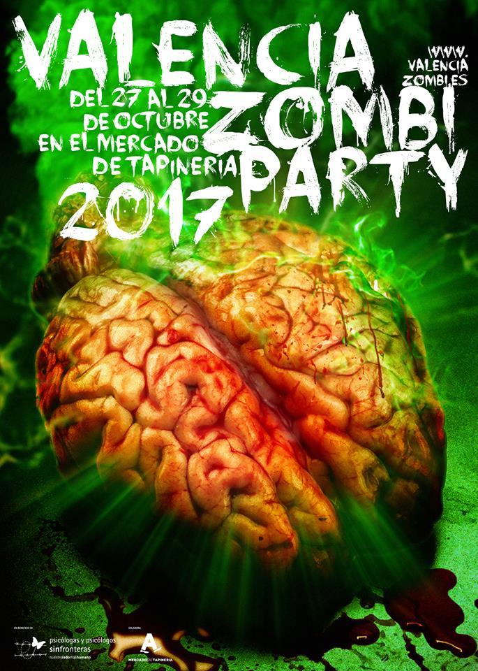 valencia zombi party