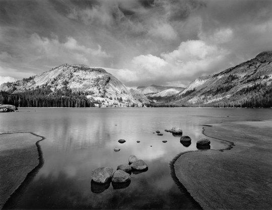 Tenaya Lake Clouds, Ansel Adams