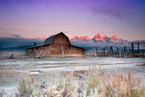 Grand Teton Winter Sunrise