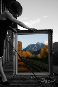 Window of Creativity in Selective Color