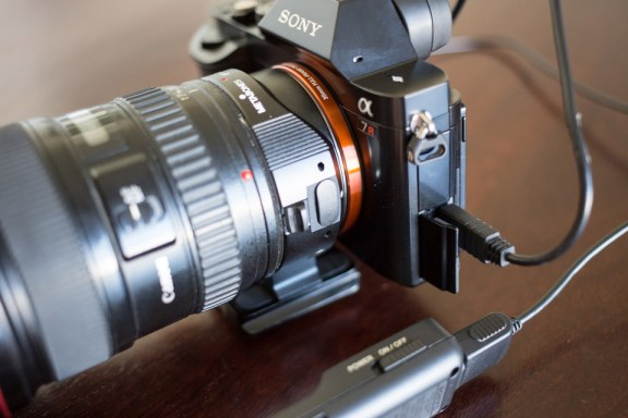 Sony A7R Shutter Release No Intervalometer