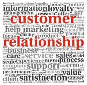 Customer relationships are vital