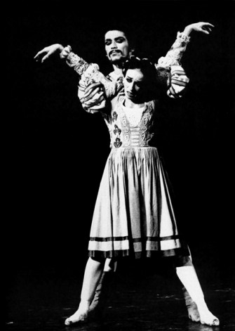 Richard Cragun and Marcia Haydée in John Crankos ballet The Taming of the Shrew