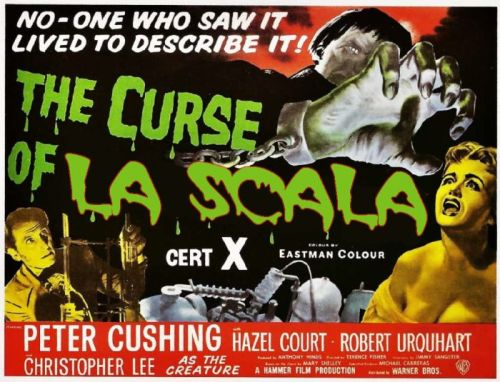 1957 UK The Curse of Frankenstein 500x382 Kaufmanns cancellation: curse or conspiracy?