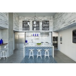 Small Crop Of Tile Kitchen Island