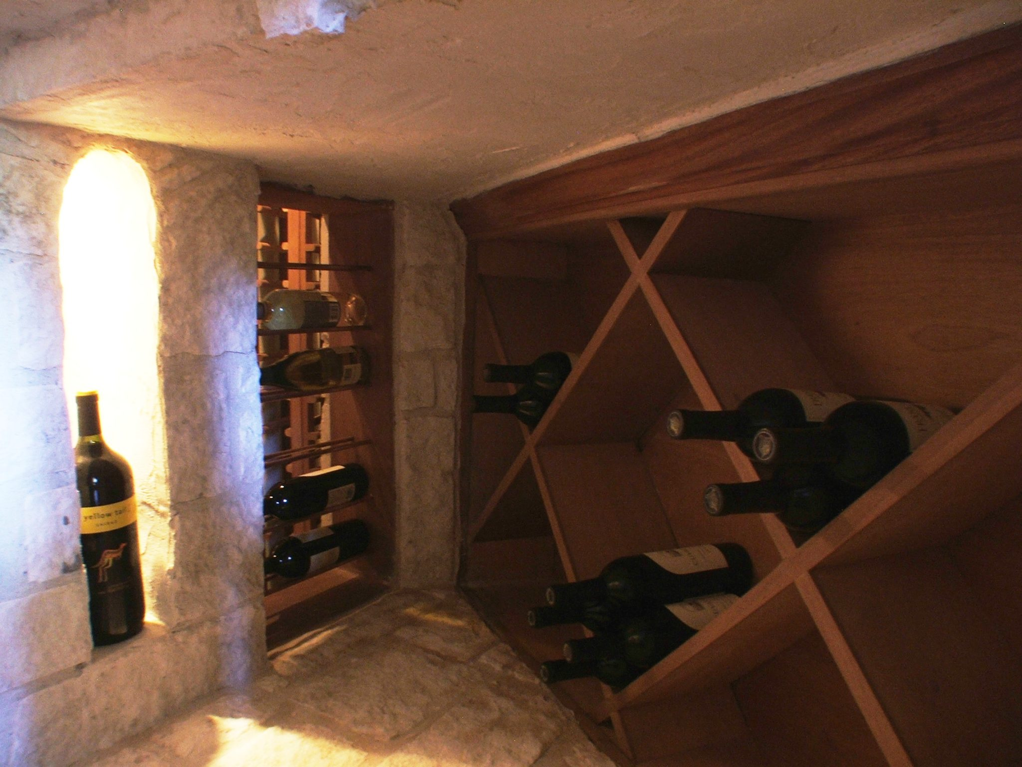 Under Staircase Cellars