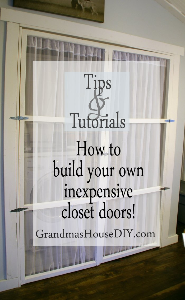 How To Build Your Own Inexpensive Closet Doors