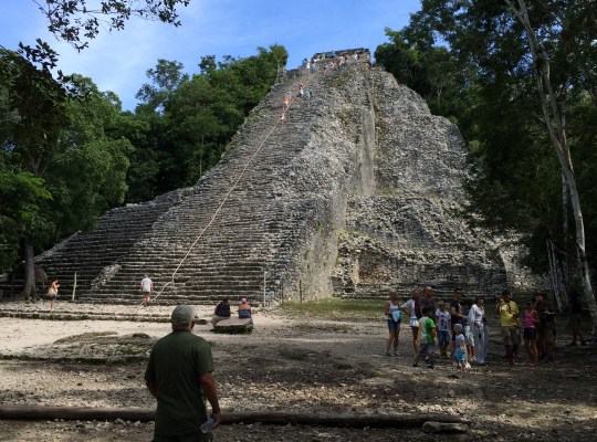 Some of the world's great sights (such as the ancient Mayan city of Coba on the Yucatán Peninsula, Mexico) include a fair amount of walking