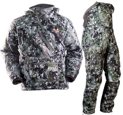 sitka fanatic bib jacket