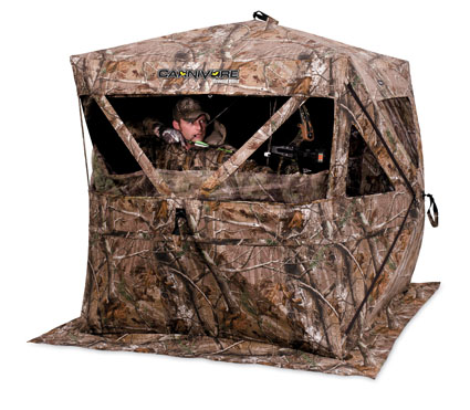 ameristep carnivore ground blind