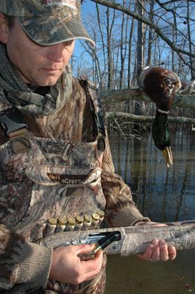 jump shooting duck hunting
