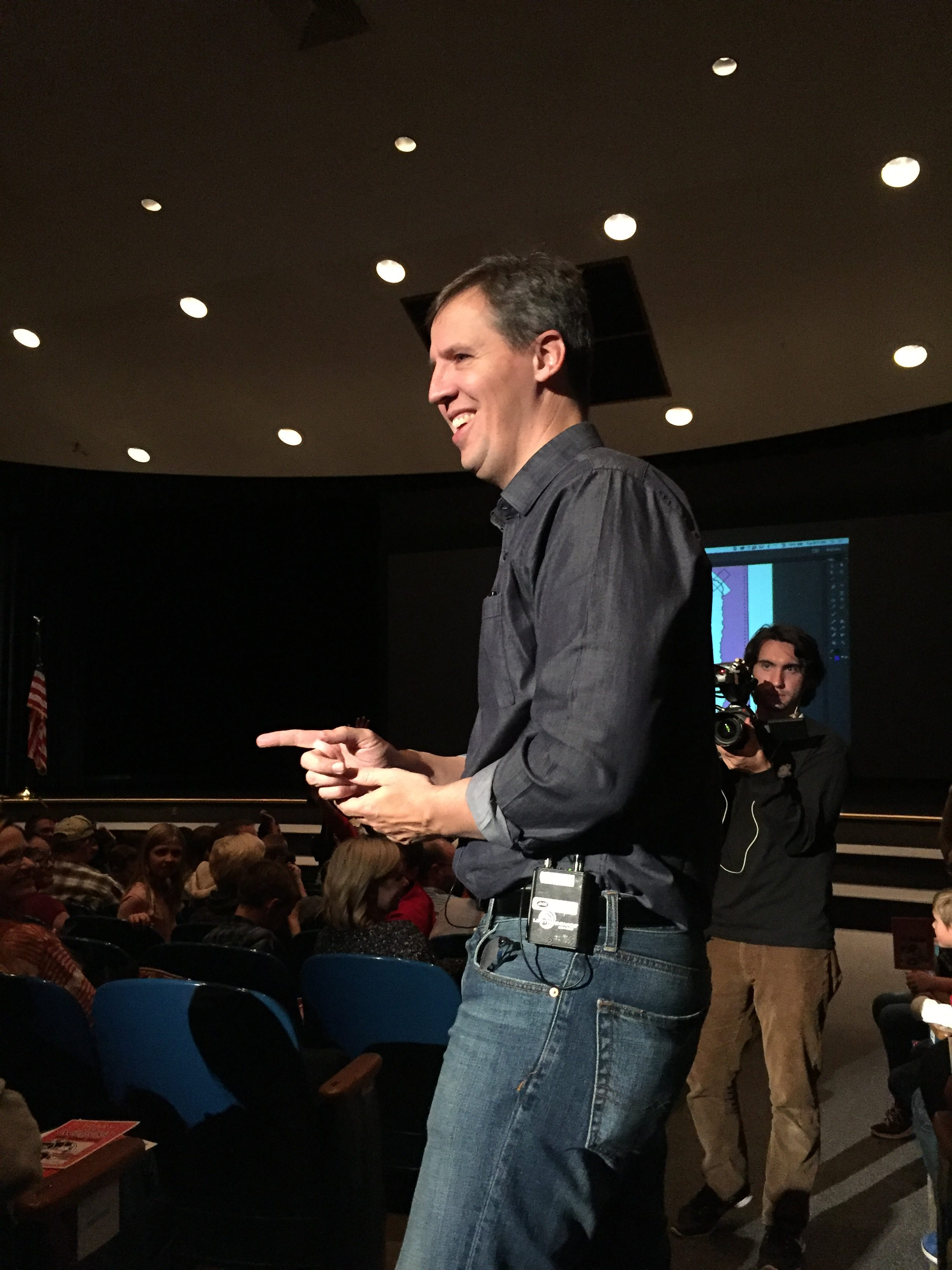 Author Visit Jeff Kinney At Kennedy Jr High