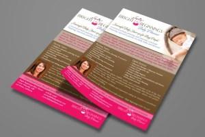 Flyer Design - Baby Planner