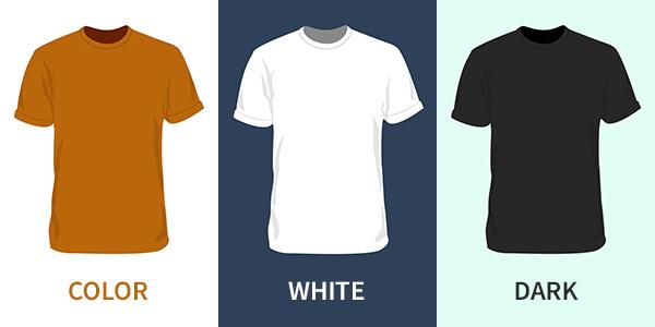 Template shirt design